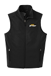 Men's Black Soft Shell Vest