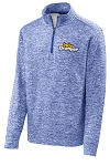 Men's PosiCharge Electric Heather Fleece 1/4-Zip Pullover