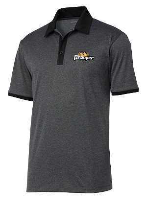 Men's Heather Contender Contrast Polo